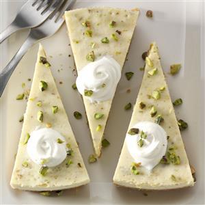 Pistachio Cardamom Cheesecake Recipe