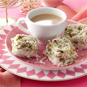 Pistachio Coconut Chews Recipe