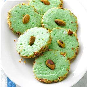 Pistachio Cream Cheese Cookies Recipe