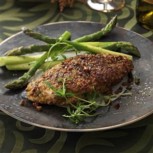 Pistachio-Crusted Chicken Breasts Recipe