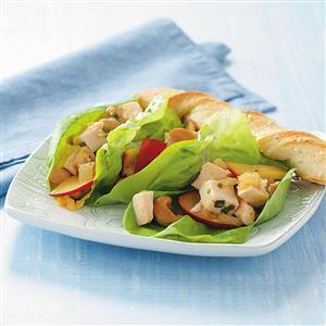 Plum Chicken Wraps Recipe
