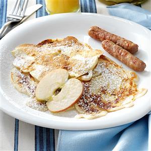 Polish Apple Pancakes Recipe