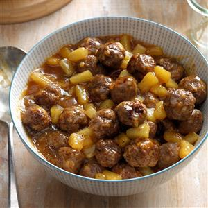 Polynesian Meatballs Recipe