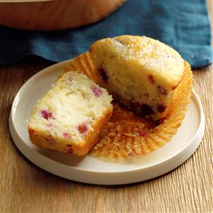 Pomegranate Cream Cheese Surprise Muffins Recipe