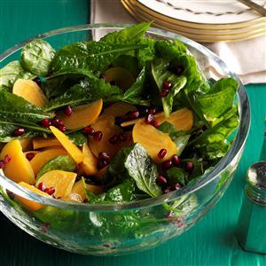 Pomegranate Persimmon Salad Recipe