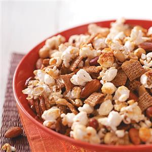 Popcorn Nut Treat Recipe