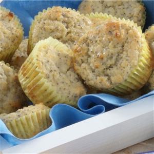 Poppy Seed Lemonade Muffins Recipe