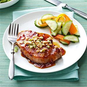 Pork Chops with Apricot Glaze Recipe