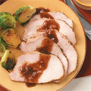 Pork Roast with Plum Sauce Recipe