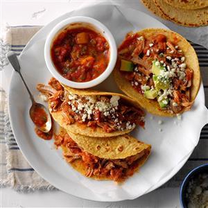 Pork Tacos with Mango Salsa Recipe