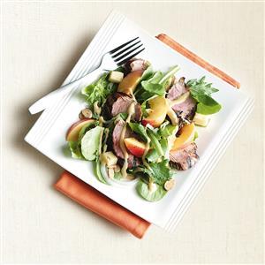 Pork Tenderloin Nectarine Salad Recipe