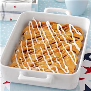 Potluck Cinnamon Roll Twists Recipe