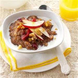Pressure Cooker Apple-Cranberry Grains Recipe