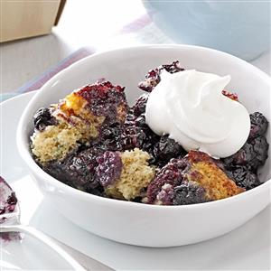 Pressure Cooker Black and Blue Cobbler Recipe