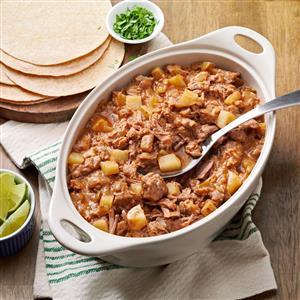 Pressure Cooker Carne Guisada Recipe