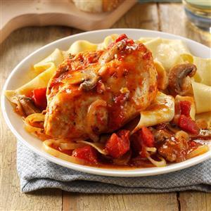 Pressure Cooker Chicken Cacciatore Recipe
