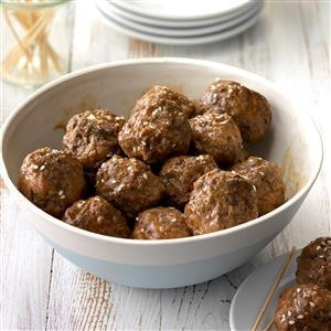 Pressure Cooker Hoisin Meatballs Recipe