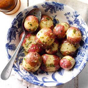 Pressure Cooker Lemon Red Potatoes Recipe