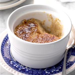 Pressure Cooker Maple Creme Brulee Recipe