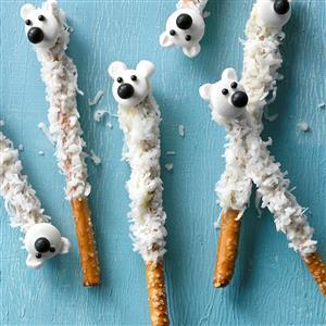 Pretzel Polar Bears Recipe