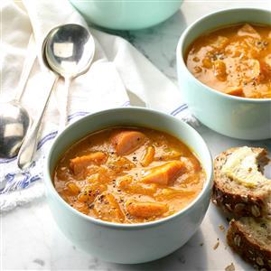 Pumpkin Apple Soup Recipe