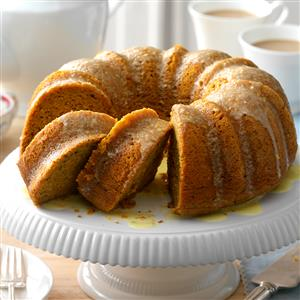 Pumpkin-Citrus Tube Cake Recipe