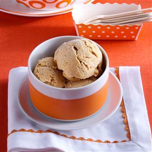 Pumpkin-Cream Cheese Ice Cream Recipe