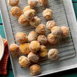 Pumpkin Doughnut Drops Recipe