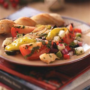 Puttanesca Salad Recipe