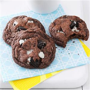 Quadruple Chocolate Chunk Cookies Recipe