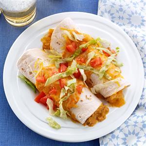 Queso Pork Enchiladas Recipe