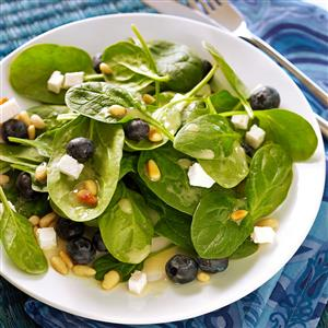 Quick Blueberry Spinach Salad Recipe