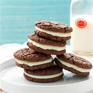 Quick Chocolate Sandwich Cookies Recipe