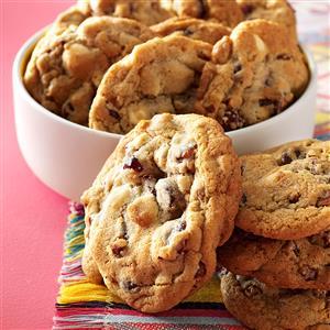 Quick Cranberry Chip Cookies