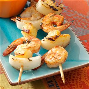 Quick Spicy Shrimp Kabobs Recipe