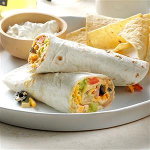 Quick Taco Wraps Recipe