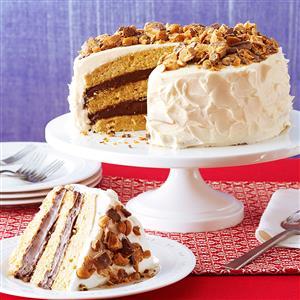 Quicker Blue-Ribbon Peanut Butter Torte Recipe
