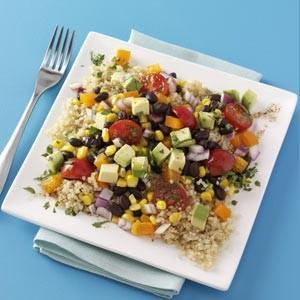 Quinoa and Black Bean Salad Recipe