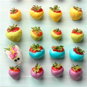 Rainbow Strawberries Recipe