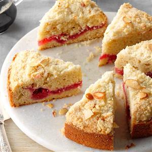 Raspberry Crumble Coffee Cake Recipe