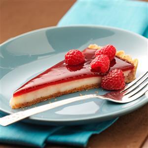 Raspberry Custard Tart Recipe