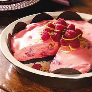Raspberry-Lemon Pie Recipe