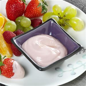 Raspberry-Lime Yogurt Dip for Fresh Fruit Recipe