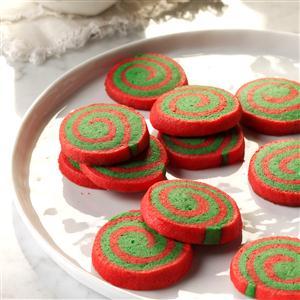 Red & Green Pinwheels Recipe