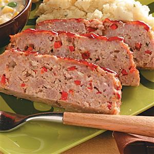 Red Pepper Meat Loaf Recipe