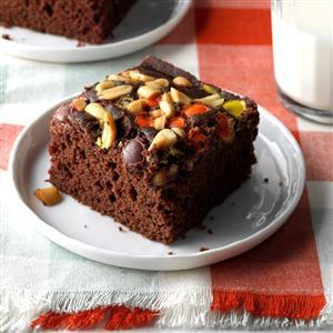 Reese's Chocolate Snack Cake Recipe