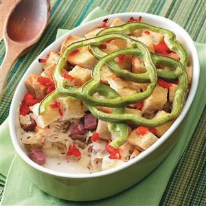 Reuben Hot Dish Recipe
