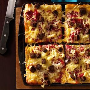Reuben-Style Pizza Recipe