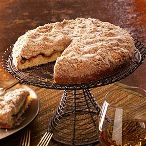 Rhubarb-Lemon Coffee Cake Recipe
