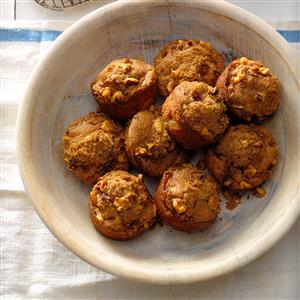 Rhubarb Nut Muffins Recipe